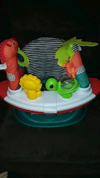 Baby activity seat/booster seat