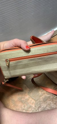 Fossil shoulder bag with wristlet Goodyear, 85338