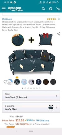 Love seat covers