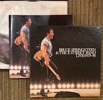 Bruce Springsteen Live 1975-1985 LP record set