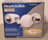 Heath/Zenith HZ-8485-WH Heathco Security Floodlights, Led – Eave/Wall Mount, White Coquitlam