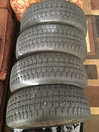 Tiger paw snow tires. P-215/60 R/15.