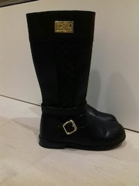 Girl's Michael Kors boots, size 30 euro 12 US