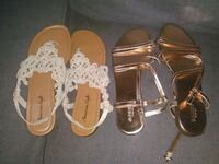 2 pairs of sandals West Sacramento, 95691