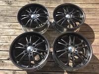 "20"" Black boss 6x139.7 rims Mississauga, L5A 3L7"