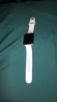 space gray aluminum case Apple Watch with white sport band Knoxville, 37917