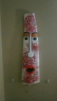 Original Zaka totem mask 2012. Orange, 22960