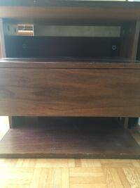 Hard wood - side/night table with drawer Vancouver, V6E