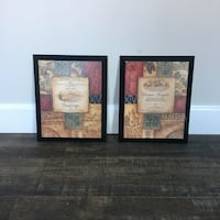 Two brown wooden photo frames Foristell, 63348
