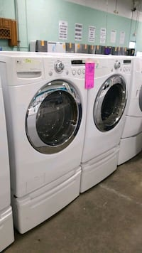 Lg natural gas set dryer/washer 27inches