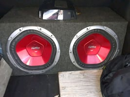 Subs and amp come together