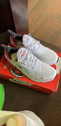 pair of white-and-red Nike running shoes Laurel, 20708