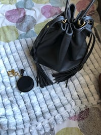 Indigo Bucket Bag and Change Purse with Tassels  Innisfil, L9S 1T7