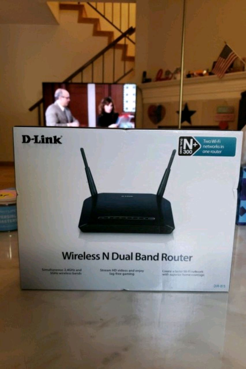 D-Link Wireless N Dual Band Router DIR-815
