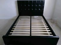 Queen bed frame brand new free delivery same day Hollywood, 33023