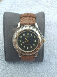 brown leather band watch Toronto, M6B 4L5