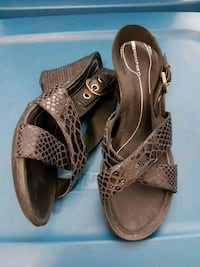 Rockport size 8.5, brand new, black leather  Mississauga, L5A 3Y3