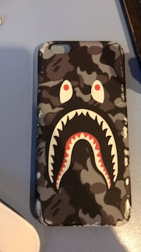 Camuflaje blanco y negro A Bathing Ape iPhone funda Martorell, 08760