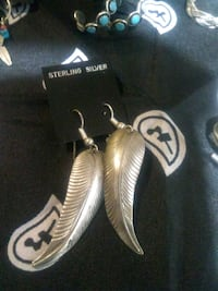 Vintage .925 Solid silver Feathers. Salt Lake City, 84111