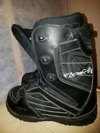 MENS SIZE 8 FIREFLY SNOWBOARD BOOTS  Barrie, L4N