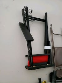 black and red metal frame Moreno Valley, 92555