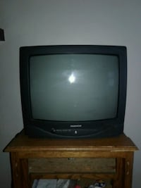 black CRT TV with remote Duluth, 55805