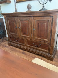"Ashley Buffet or Server 4 1/2 years old. 62""wide x 41"" high."