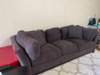 Cindy Crawford Slate Couch
