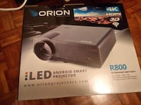 New projector with screen R800 3Dx Toronto, M5A 4H2