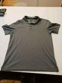 CHAMPION gray Duo/Dry Golf/Polo Shirt Size Medium  New Canaan, 06840