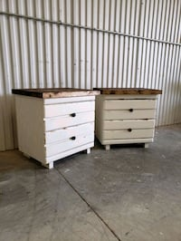 Matching farmhouse nightstands  Oklahoma City, 73114
