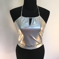 Wore once silver top size medium  Toronto, M1B 1Z9