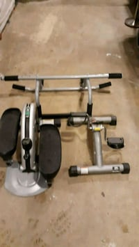 gray and black elliptical trainer Rockville, 20852