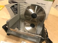 "Cuisinart food slicer professional quality 7.5"" blade Burnaby, V5H 1Z9"