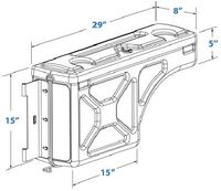 F150 toolbox swingcase 17 mi