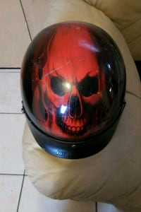 red and black full-face helmet Pinellas Park, 33781