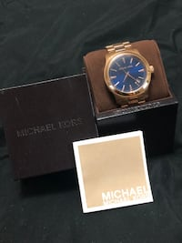 Michael Kors Gold-Tone Oversized Watch Toronto