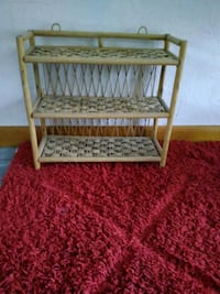 Wicker style nic nac shelf Ormond Beach