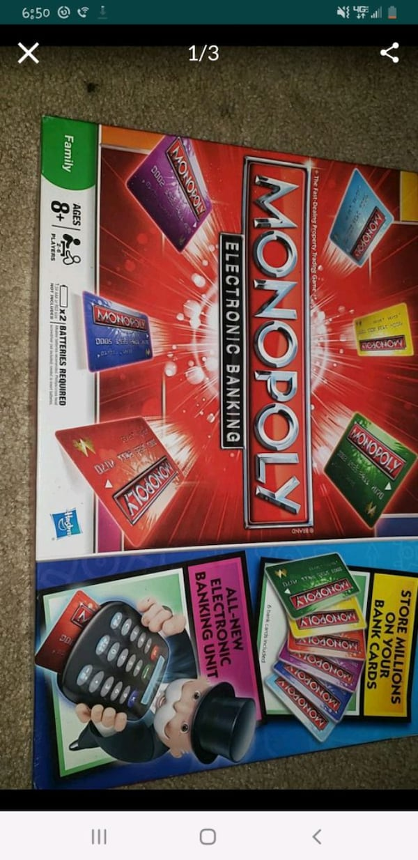 Monopoly electric banking  2