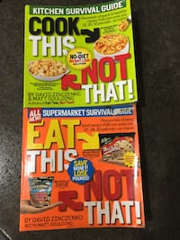 2 Books-Eat This Not That! Supermarket Survival Guide: &  The Cook This, Not That!: Kitchen Survival Guide No-Diet Weight Loss Solution - &   Burnaby