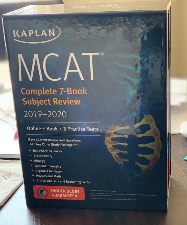 Kaplan MCAT review + advanced review for sale!!