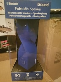 blue and black Bissell upright vacuum cleaner box Burke, 22015