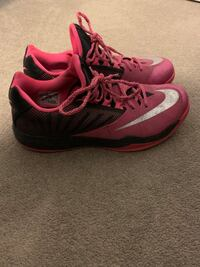 Nike Zoom Limited Edition Breast Cancer Basketball Shoes (low-top)
