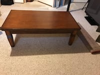 Nice Solid Wood Coffee Table Ellicott City