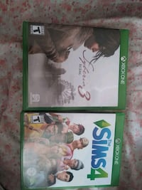 two Xbox One game cases Cloquet, 55720
