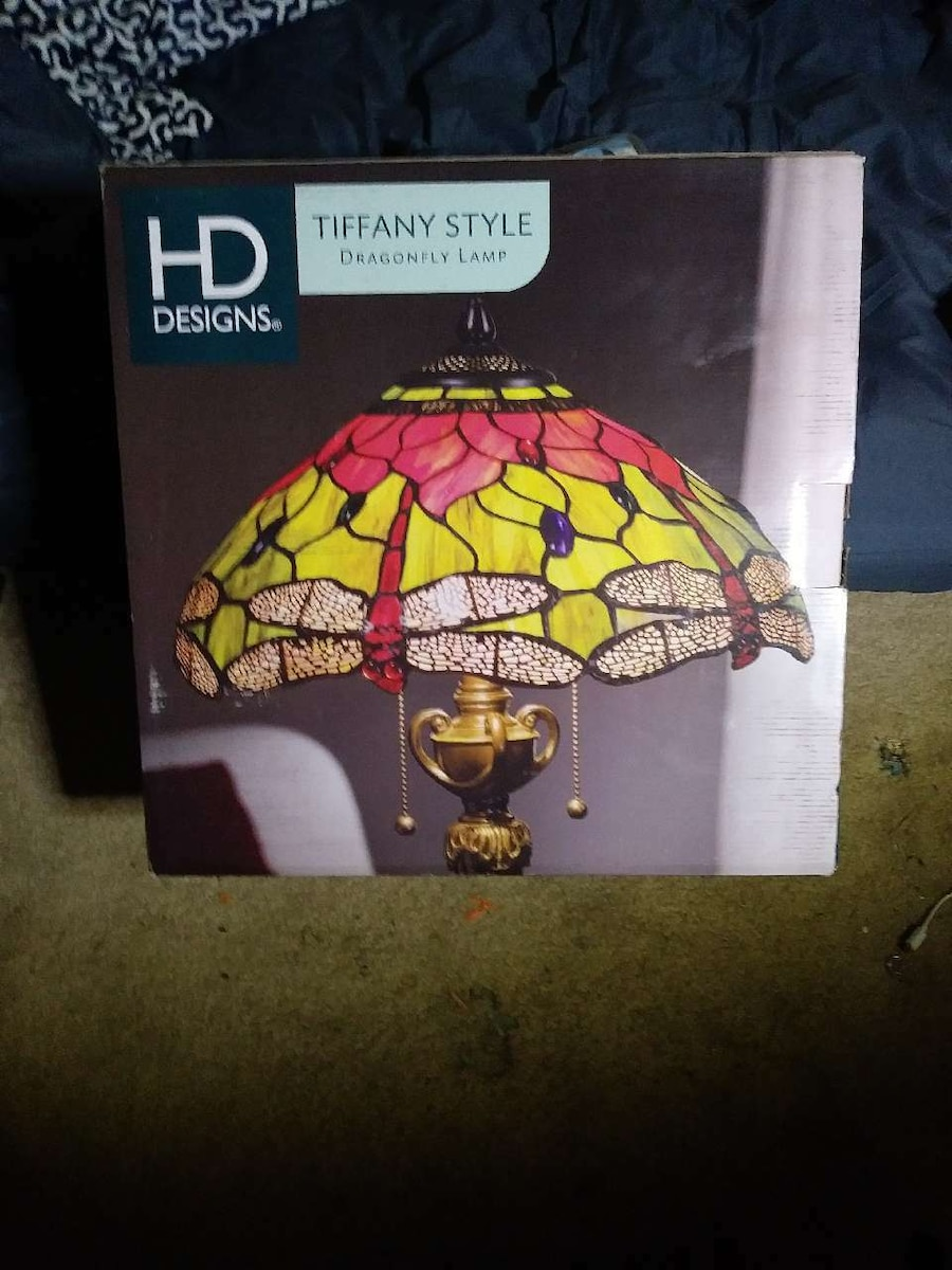 HD tiffany style lamp box