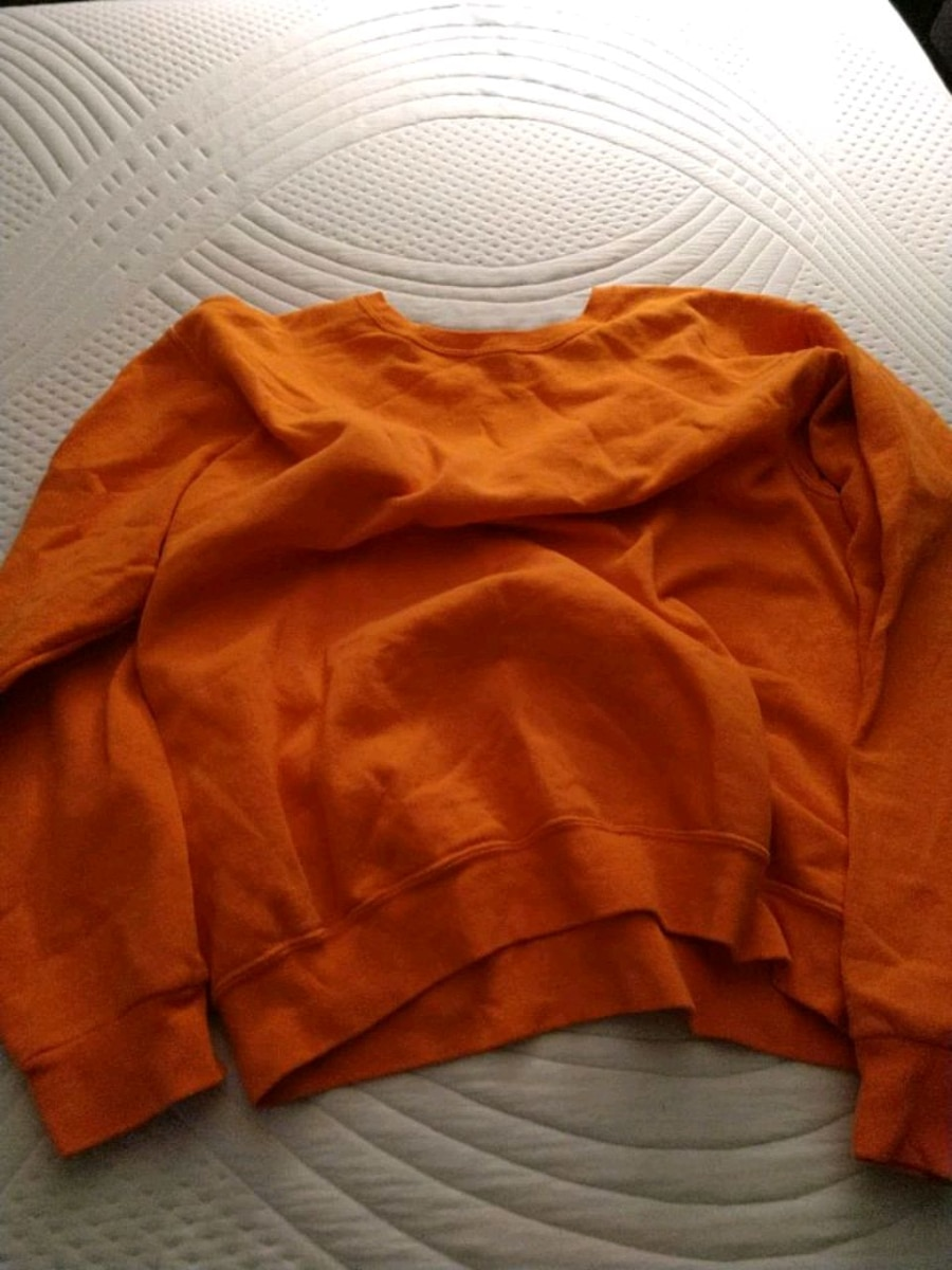 Photo Burnt orange long sleeve shirt