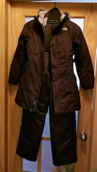 The North Face Down coat with snow pants Vaughan, L4K 1M7
