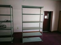 black and gray metal rack 10 of them  Kissimmee, 34744