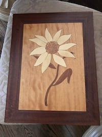 Vintage wood/ inlay wall hanging painting Rockville, 20852